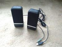 PC World Essentials PC/Laptop Speakers + VGA