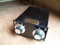 MCP Audio Passive Pre-Amp (4-input, custom build). New.