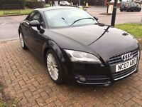 Immaculate Audi TT 2007 Coupe Black - Auto S-Tronic - Service History -Cruise Control