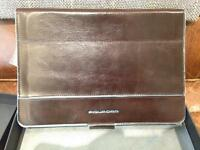 Piquadro iPad Mini Leather Case With Bluetooth Keyboard BNWT BNIB