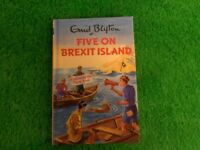 Brand New Enid Blyton Five on Brexit Island