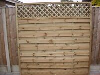 Continental Fence Panels - Brand New