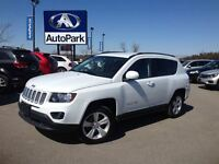 2014 Jeep Compass Sport/North 4X4/ LEATHER/ KEYLESS ENTRY/ SPLIT