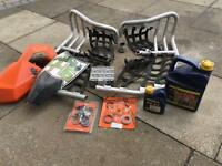 Job lot ktm 505sx quad parts