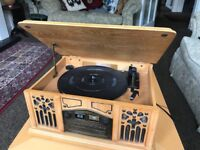 Record Player (with CD, radio and cassette player)
