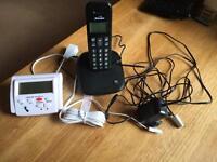 Binatone single handset and call blocker