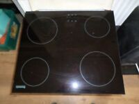 BRAND NEW OLD MODEL BAUMATIC 4 ZONE CERAMIC HOB