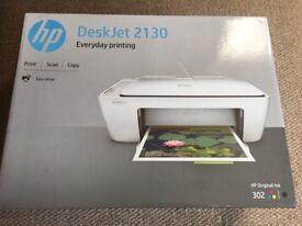 HP Deskjet 2130 Printer; BNIB, still sealed
