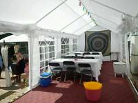 10m x 3m marquee for sale