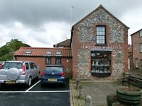 SHOP/OFFICE with Living Accommodation to Rent in Swaffham