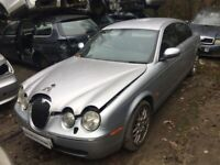 Jaguar S-Type 2.7 D V6 SE 4dr silver (05 - 06) breaking for parts for sale  Ipswich, Suffolk
