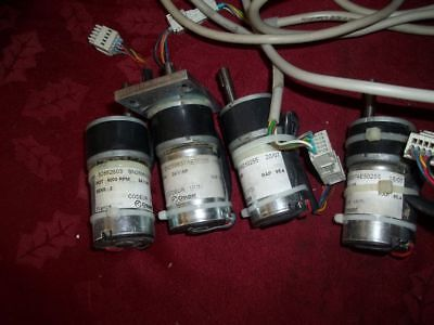 Lot Of 4 Crouzet 24v Motors