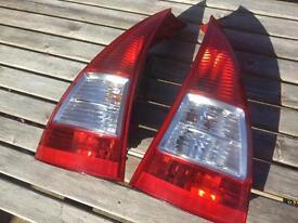 Citroen C3 Rear Light Cluster Tail Lights 2008
