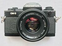 Olympus OM-3 plus Lenses