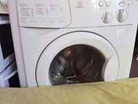 Indesit washing machine.Fully working. 6 kg. 1200 rpm. 3 years old. Silent. Delivery available