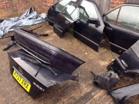 BMW E36 breaking doors arches lights wings bonnet boot spares black