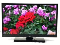 Bush 22 inch slim SMART TV HD LED Built in WIFI DVD Freeview latest model great condition like new
