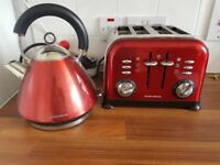 Kettle and toaster morphy Richards