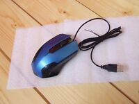 USB Wired Optical Gaming Mouse Mice For PC Laptop