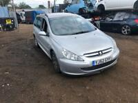 PEUGEOT 307 ESTATE IN FOR BREAKING SPARES PARTS CHELMSFORD ESSEX LONDON
