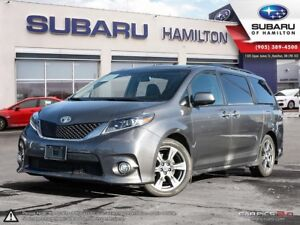 2017 Toyota Sienna SE 8 Passenger ACCIDENT FREE   FULLY LOADE...