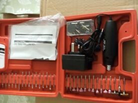 RECHARGEABLE 12v ROTARY TOOL KIT (Brand New & Boxed)