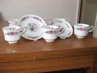 18 piece Royal Stafford Bone China Tea Service Set