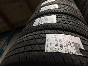 215/60/16 Firestone FR710 *Allseason Tires*