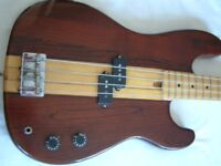 Satellite Thru' neck electric bass guitar - Japan - '80s