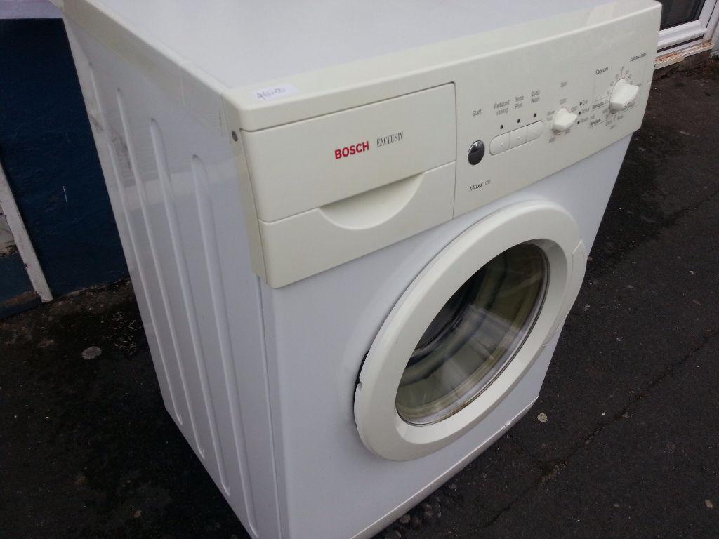 bosch exclusiv maxx120 washing machine in newport gumtree. Black Bedroom Furniture Sets. Home Design Ideas