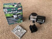 JBL Autofood Black automatic feeder for aquarium fish