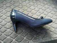 Size 5 blue shoes