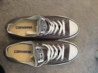 Women's Grey Real Converse size 6