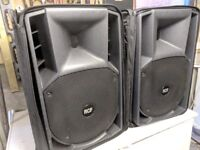 RCF Art 172a MKII Active PA Speakers (Pair)