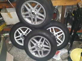 bmw E46 15 inch wheels and tyres