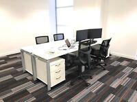 Rental of four desks in a single office