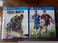 PS4 Gamess. (£10 Each.)