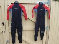 Children's Wetsuits (x 2)