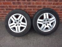 VW Golf Avus 11 wheels with winter tyres