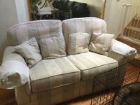 Free 2 x 2 seater sofas + chair