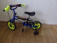 kids avigo bike with stabilisers