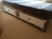 4 drwer divan bed