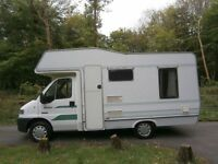 1998 peugeot boxer diesel motor home 41655 miles one previous owner