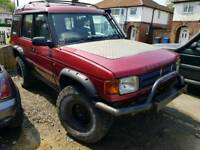 Land Rover Discovery 300tdi offroad spares or repairs
