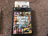 PS3 GTA5 Grand Theft Auto 5 Special Edition Pack in original box