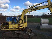 Hymac 580d digger export