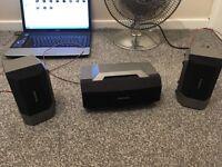 technics center speaker and suround speakers