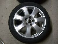 Jaguar X type Cayman Alloy wheels 17""