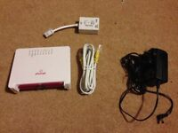 Wireless wifi router - Sagemcom - Plusnet