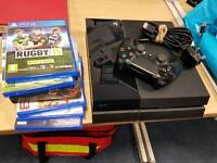 Sony PlayStation 4 PS4 with games bundle